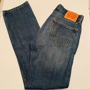 Levi's 505 31x32 Medium Wash Straight Leg Unisex